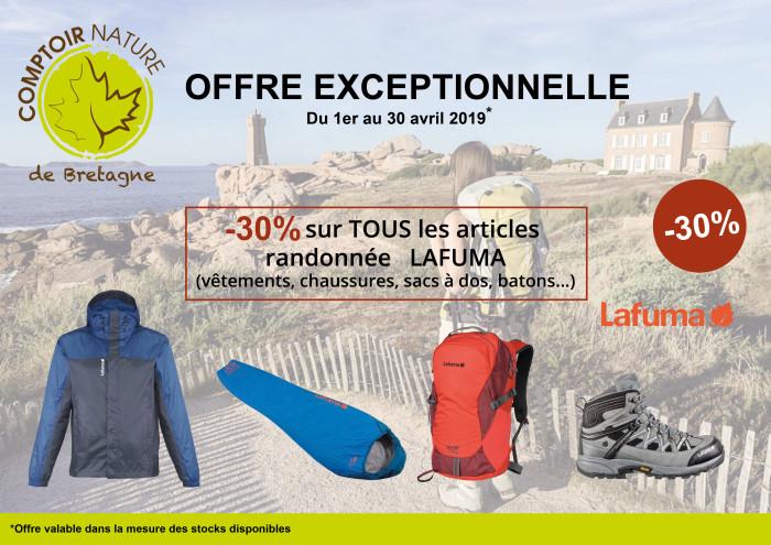 Promo Lafuma -30% CNB