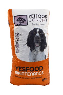 YESFOOD BASIC MAINTENANCE croquettes pour chiens