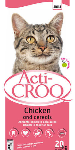 croquettes pour chat poulet