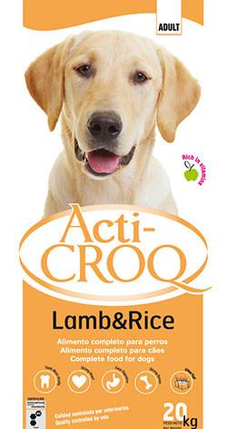 croquettes pour chien agneau