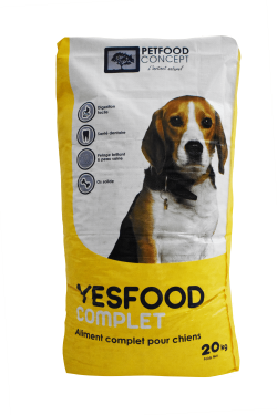 YESFOOD Complet croquettes pour chiens