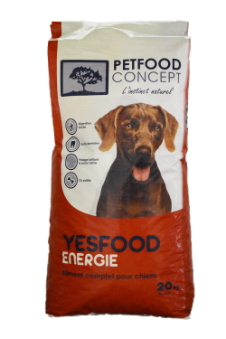 YESFOOD BASIC ENERGIE CROQUETTES POUR CHIENS