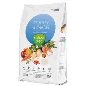 Natura diet Puppy Junior : aliment complet naturel pour chiots